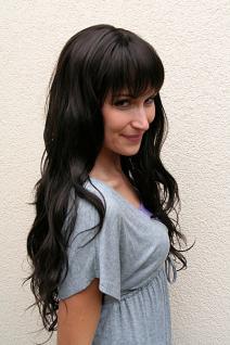 Perücke braun langes Haar 9317-4 - Vorschau 2