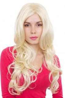 Frauenperücke, Wig, langhaarig, blond, Locken, Länge: ca. 65 cm, GFW999-613