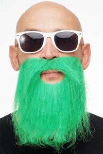 Karneval Fasching Bart grün Vollbart Irland St. Patricks Waldgeist MM-014
