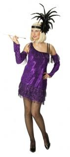 Rubies: Charleston, 2tlg. Modell 1/3449 Damenkostüm Kostüm Sexy 20er Edel Kleid