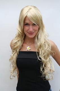 Perücke helles blond voluminös 9669EL-202