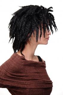 WIG ME UP Damenperücke Perücke Karibik Afro Schwarz Afrolocks Dreadlocks GFW1837 - Vorschau 2