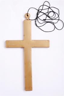 Karnvelsartikel Accessoire Kreuz Plastikkreuz f. Priester Mönch Exzorzist MM-009