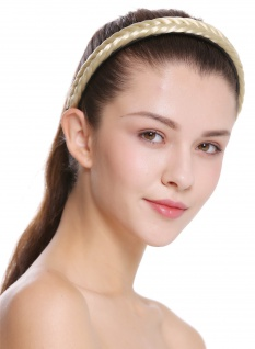 Haarband Haarreif geflochten Tracht traditionell hellblond braid CXT-001-320