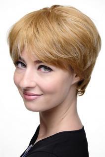 Perücke, Rot-Blond-Mix, Erdbeerblond & helles Lichblond, Kurzhaar 7482-27H613
