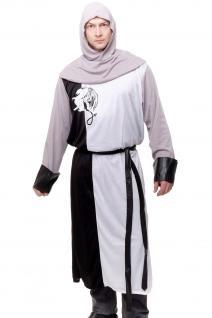 Kostüm Herrenkostüm Mittelalter Ritter Kreuzfahrer Knappe Arthur England L085