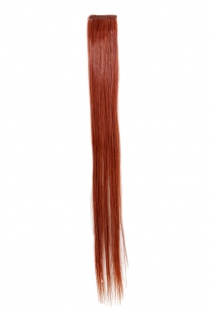 1 CLIP Extension Strähne glatt Rost-Rot YZF-P1S18-130 45cm Haarverlängerung