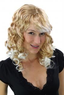Party Perücke GOLDMARIE Karneval LOCKEN gemischt Blond