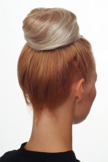 Dutt Haarknoten Bun Haarteil 60er Jahre Vintage Look Blond-Mix NHA-004D-27T613