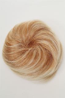 Dutt Haarknoten Bun Haarteil 60er Jahre Vintage Look Blond-Mix NHA-004D-27T613 - Vorschau 2