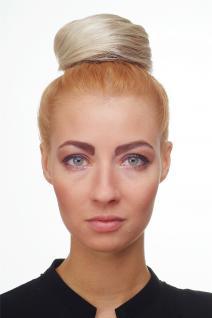 Dutt Haarknoten Bun Haarteil 60er Jahre Vintage Look Blond-Mix NHA-004D-27T613 - Vorschau 4