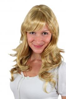 Leuchtend blonde Perücke, gesträhnt SA-431-149-27C 50cm
