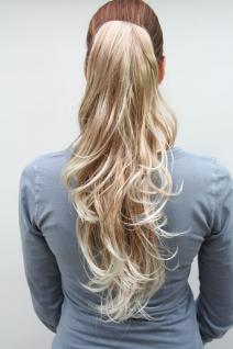 Haarteil gewellt Blond-Mix T148M-27T613
