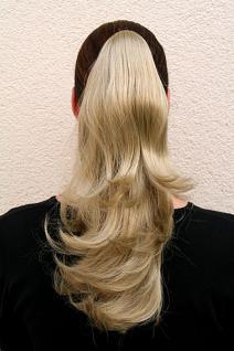 Haarteil glatt dunkelblond halblang T400-24