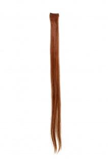 1 CLIP Extension Strähne glatt Rot-Braun YZF-P1S25-30 65cm Haarverlängerung