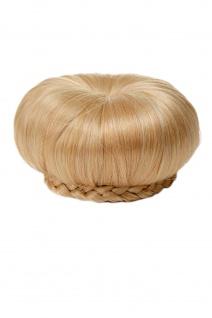 WIG ME UP - Haarteil Dutt Haarknoten 50er 60er Vintage Gold-Blond N372-LG26