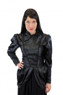 Kostüm Damenkostüm Kleid 80er New Wave Gothic Lolita Barock Hexe Vampirin L002 - Vorschau 5