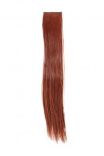 2 Clips Extension Strähne glatt Rost-Rot YZF-P2S18-130 45cm Haarverlängerung