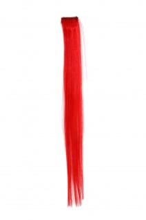 1 CLIP Extension Strähne glatt Rot YZF-P1S18-113 45cm Haarverlängerung Extension