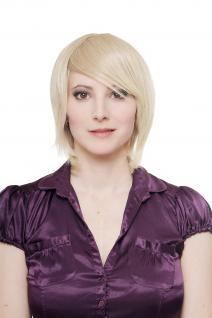Damenperücke Perücke Cosplay auffälliges Blond kurz extravaganter Scheitel 1260