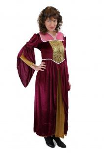 Aufwändiges Kostüm Damenkostüm Mittelalter Edelfrau Gothic Cosplay Märchen L003 - Vorschau 2