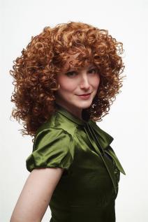 Damenperücke Perücke Lockenpracht lockig voluminös Rot Blond Mischung 350/144 - Vorschau 2