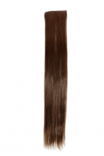 2 Clips Extension Strähne glatt Hell-Braun YZF-P2S18-8 45cm Haarverlängerung