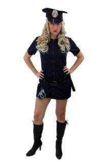 Komplettset: Kostüm Damenkostüm Sexy Politesse Polizistin Female Cop Police L006 - Vorschau 2