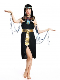 Kostüm Damen Frauen Karneval Ägypterin Kleopatra Cleopatra Pharaonin M/L W-0264 - Vorschau 2