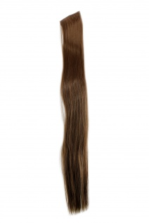 2 Clips Extension Strähne glatt Hell-Braun YZF-P2S25-10 65cm Haarverlängerung
