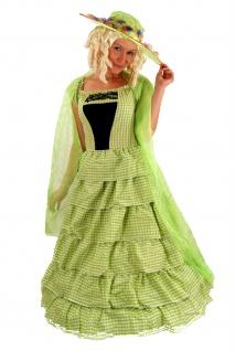 Kostüm koloniales Kleid Barock BIEDERMEIER Südstaaten Civil War Unabhängigkeit