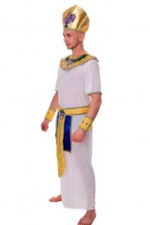 DRESS ME UP - Kostüm Herren Herrenkostüm Pharao Ägypter Ramses Mumie Gr. S/M L201 - Vorschau 2