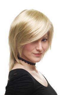 Sexy Damenperücke Perücke Rock Chick schulterlang blond voluminöses Top 3272-234