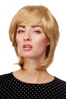 Damen Perücke Kurzhaarfrisur kurz Goldblond Blond toupiert voluminös AL-844-24B