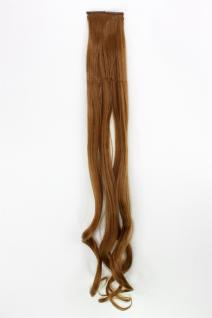2 CLIP Extension Strähne wellig Kupfer-Blond YZF-P2C25-27 65cm Haarverlängerung