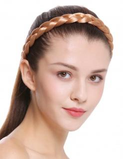 Haarband Haarreif geflochten Tracht traditionell rotblond braid CXT-007-416