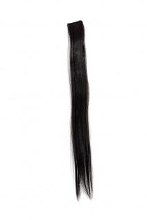 1 Clip-In Extension Strähne Haarverlängerung glatt Braun 45cm YZF-P1S18-4/12