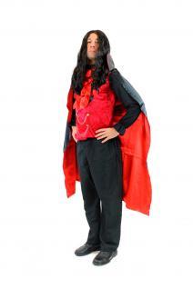 DRESS ME UP - Kostüm Herren Dracula Vampir Dunkler Graf Barock Mittelalter L061 - Vorschau 2
