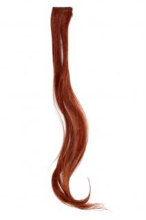 1 CLIP Extension Strähne wellig Rost-Rot YZF-P1C18-130 45cm Haarverlängerung