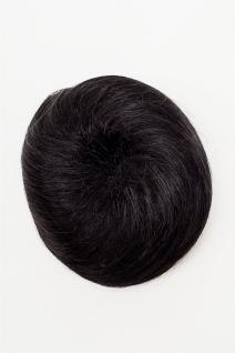 WIG ME UP Dutt Haarknoten Bun Haarteil 60er Jahre Vintage Look Schwarz NHA-004D - Vorschau 2