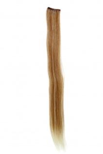 1 CLIP Extension Strähne glatt Blond-Mix YZF-P1S18-27T613 45cm Haarverlängerung