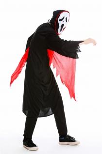 Kostüm Herren Damen Unisex Halloween Geist Gespenst Serienkiller Gr M/L M-0001 - Vorschau 3