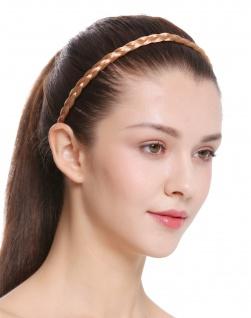 Haarband Haarreif geflochten Tracht traditionell rotblond braid CXT-009-416