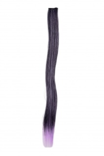 1 Clip-In Extension Strähne Haarverlängerung glatt Violett YZF-P1S18-1BTTF2403A