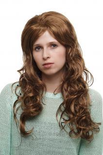 Extravagante Damenperücke Perücke toupiertes Top lockig blond/braun SA01427H16