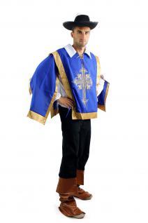 Kostüm Herrenkostüm Set Musketier Musketeer Pirat Barock Soldat L050