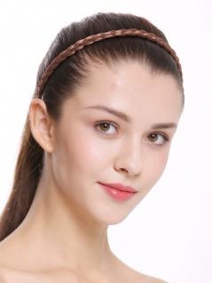 Haarband Haarreif geflochten Tracht traditionell hellbraun braid CXT-009-010