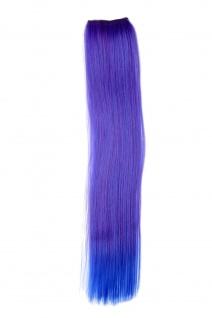 2 CLIP Extension Strähne Haarverlängerung Violett glatt YZF-P2S18-T2420TTF2517