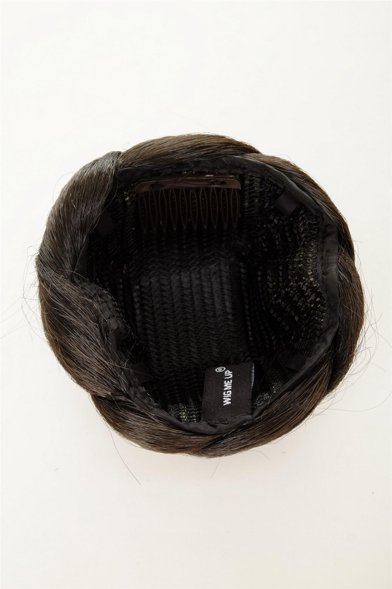 aufwendig geflochten haarknoten dutt haarteil kamm haarnadel schwarz n672 2 kaufen bei vk. Black Bedroom Furniture Sets. Home Design Ideas