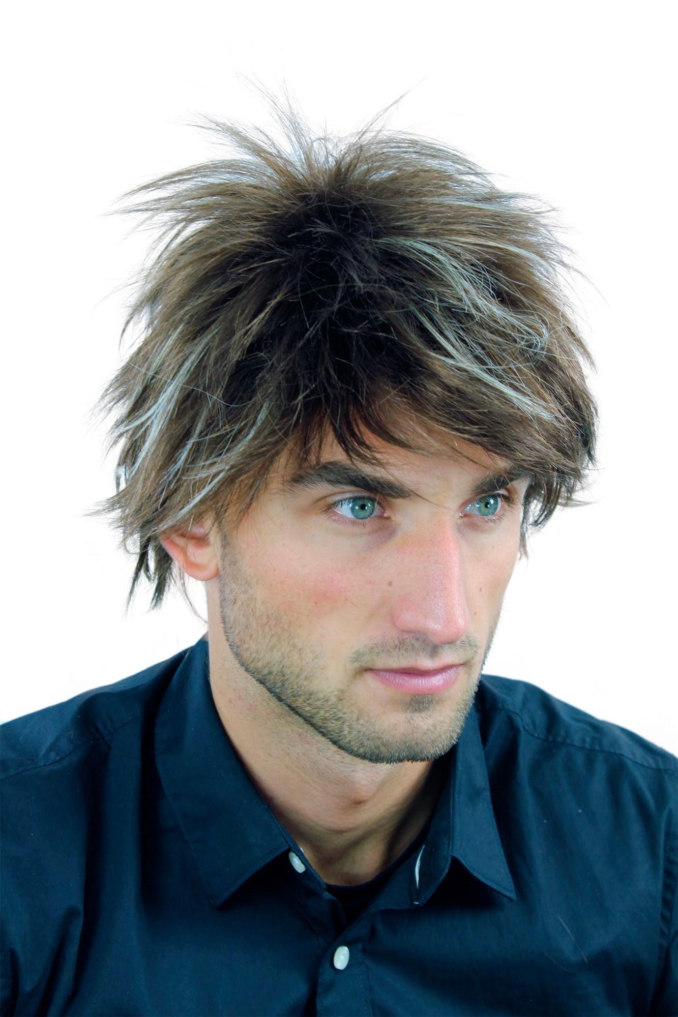 Strähnen bei männern blonde Blonde haare
